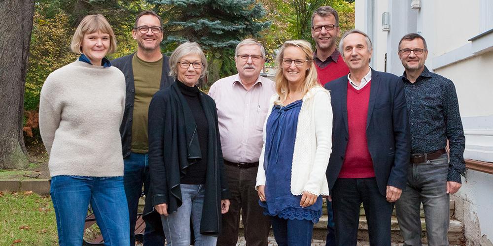 Der Vorstand des Kunstvereins Apolda Avantgarde e.V.