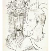 Beckmann Max - Christus u. Pilatus 1946