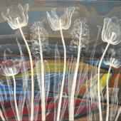 Hannah Höch: Holland, 1942, Öl auf Leinwand, Sammlung zeitgenössischer Kunst der Bundesrepublik Deutschland, VG Bild-Kunst, Bonn 2017