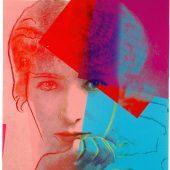 """Andy Warhol: Sarah Bernhardt, 1980 Siebdruck aus dem Portfolio """"Ten Portraits of Jews of the Twentieth Century"""" (Feldman/Schellmann/Defendi II.226-235) auf Lenox Museum Board, 101,6 x 81,3 cm, Edition: 86/200, signiert und nummeriert mit Bleistift unten rechts, Gedruckt von: Rupert Jasen Smith, New York Herausgeber: Ronald Feldman Fine Arts, Inc., New York; Jonathan A Editions, Tel Aviv, Israel Feldman/Schellmann/Defendi II.234"""