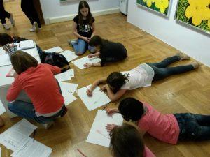 Kinder der Grundschule G. I. Lessing in Apolda