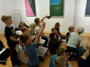 Kinder der Grundschule-Herressen-Sulzbach