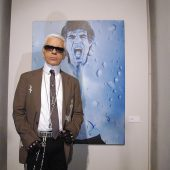 Karl Lagerfeld im Kunsthaus