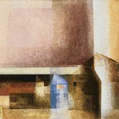 Dorf (Markwippach), 1927, Öl a. Lwd., The Phillips Collection, Washington, D.C., © VG Bild-Kunst, Bonn 2019